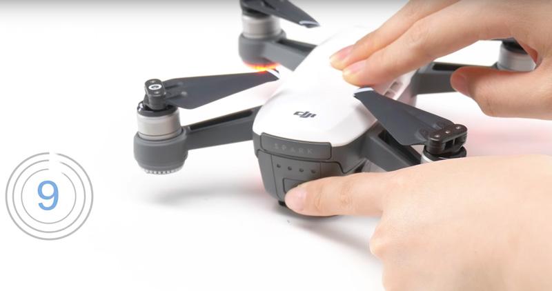 DJI Spark réinitialiser le WiFi