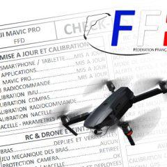 Volez en sécurité avec les checklist de la Fédération Française de Drone