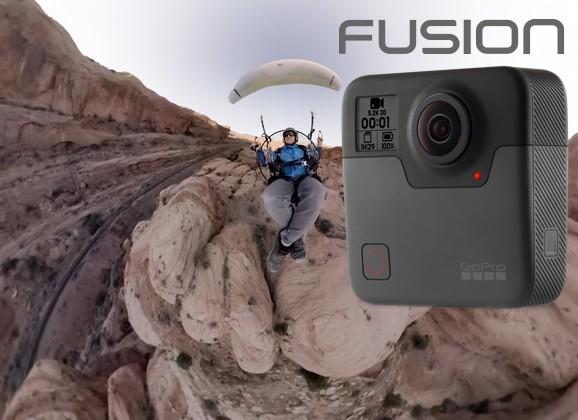 Nouvelle GoPro Fusion, la caméra sportive 360