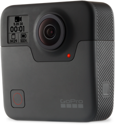 Découvrir la GoPro Fusion - caméra 360°