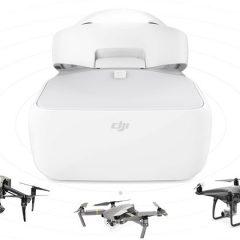 Lunettes DJI Goggles, avec quel drone sont-elles compatibles ?