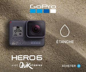 GoPro Hero6 Black étanche