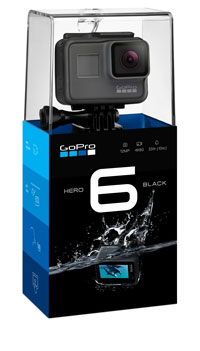Packaging GoPro Hero6 Black