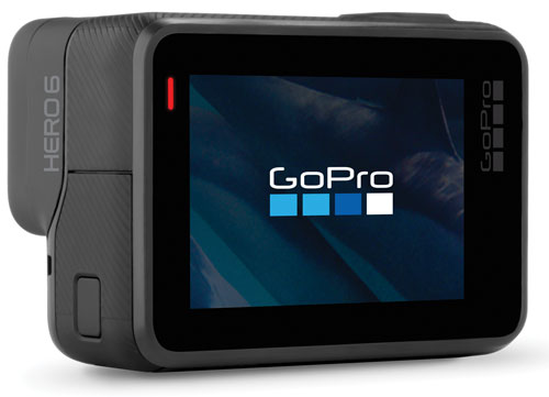 gopro hero6 black de côté