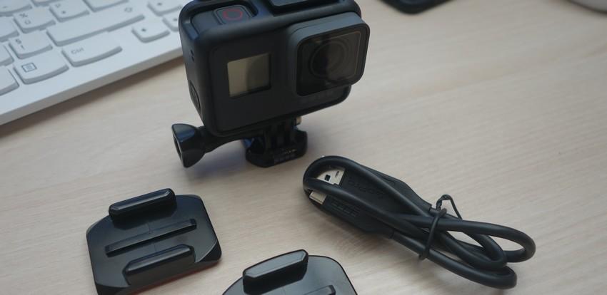 Pack GoPro Hero6 et accessoires
