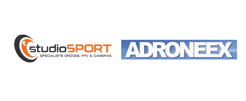 Collaboration studioSPORT Adroneex pour le salon SATIS