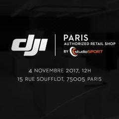 Ouverture du DJI Store par studioSPORT en plein Paris !