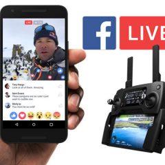 Diffusez en live vos vidéos avec les drones DJI