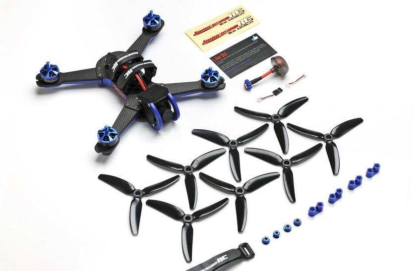 Drone Racer Vortex 230 Mojo ImmersionRC et ses accessoires