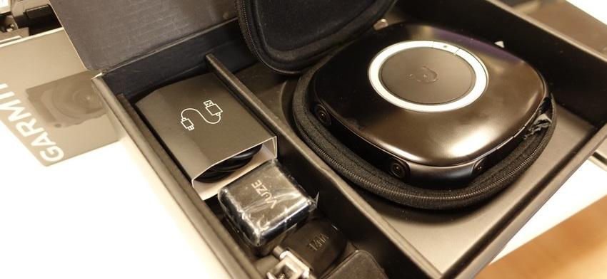 Le pack caméra Vuze 360 3D et ses accessoires