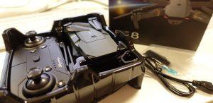 Packaging Eachine E58 et accessoires