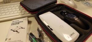 Packaging Eachine E56 et accessoires