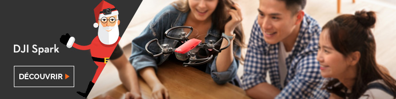 idée cadeau drone dji spark
