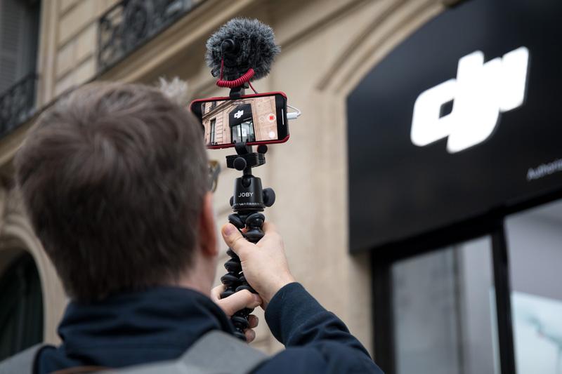 DJI Store Paris extérieur