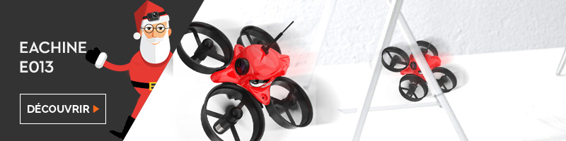 Idée cadeau drone nano racer Eachine E013