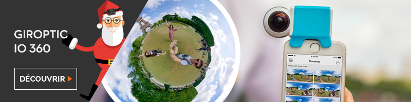Idée cadeau caméra 360° smartphone
