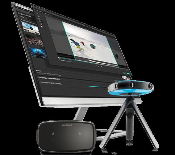 Logiciel Humaneyes VR Studio