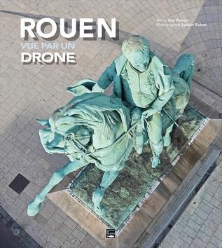 Rouen vue par un drone - couverture