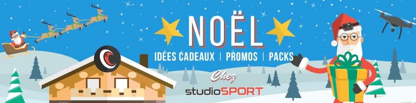 Idées cadeaux, promotions et packs de noël chez studioSPORT