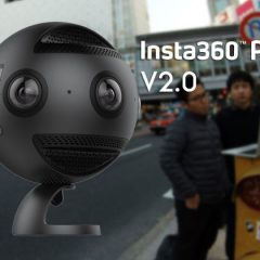 La Insta360 Pro V2.0 propose désormais du 12K à 360° en photo
