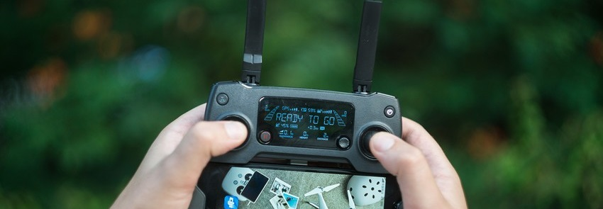 Connexion entre DJI Go 4 et son drone DJI