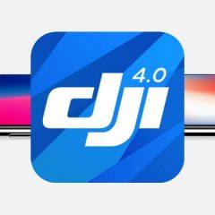News DJI: compatibilité avec l'iPhone X