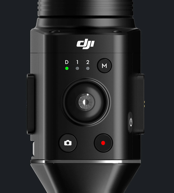 DJI Ronin-S avec joystick