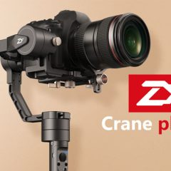 Zhiyun Crane Plus, le petit frère du Crane 1 V2