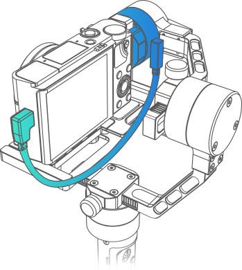 Zhiyun Crane 2 câble