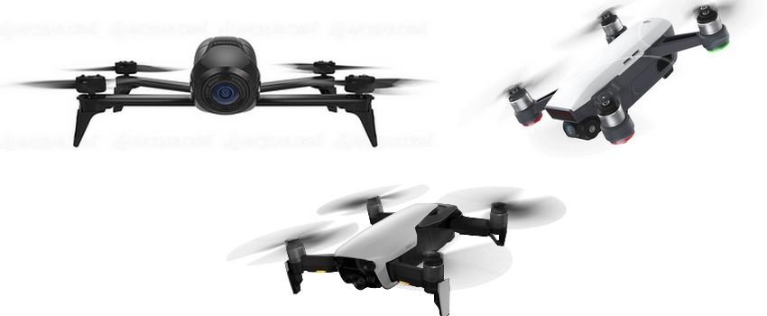 drones adaptés au ski