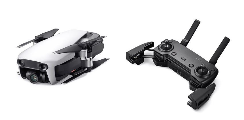 Le DJI Mavic Air et sa radiocommande Appairage