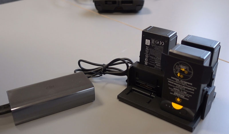 Chargeur multiple pour DJI Mavic Air