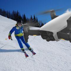 10 conseils pour emmener votre drone au ski
