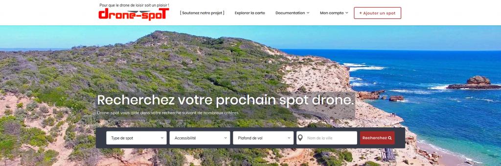 drone-spot.tech site web spot de drone