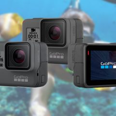 GoPro Hero comparatif face aux GoPro Hero5 et GoPro Hero6