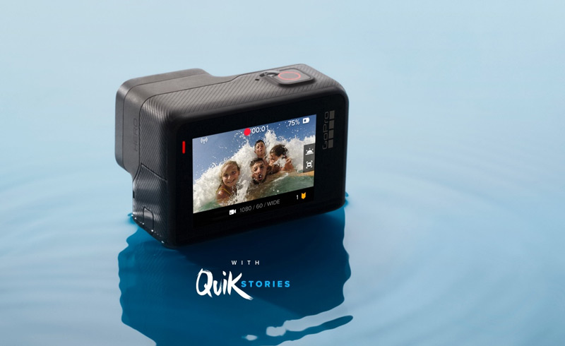 GoPro Hero avec écran tactile