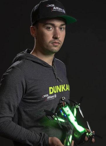 Dunkan Bossion DLR drone FPV Racing