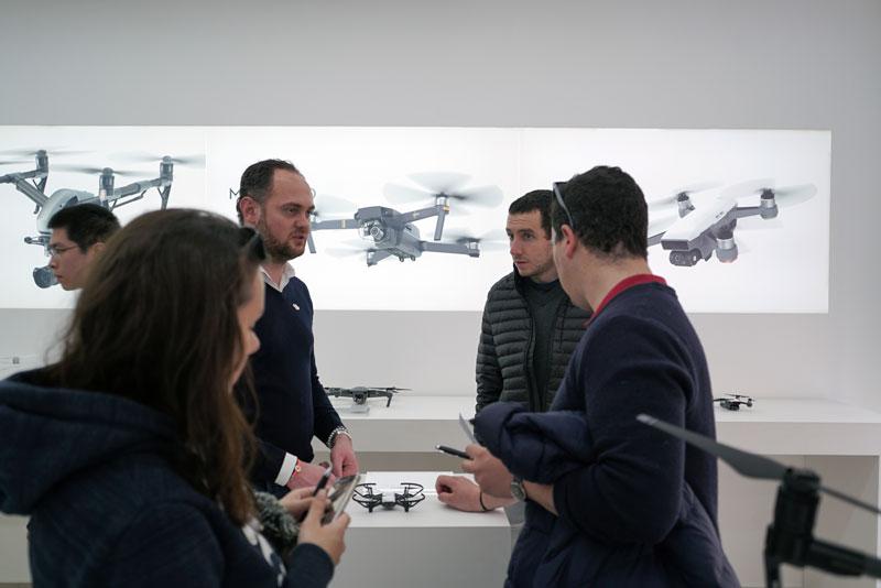 drone Ryze Tello DJI Store Paris