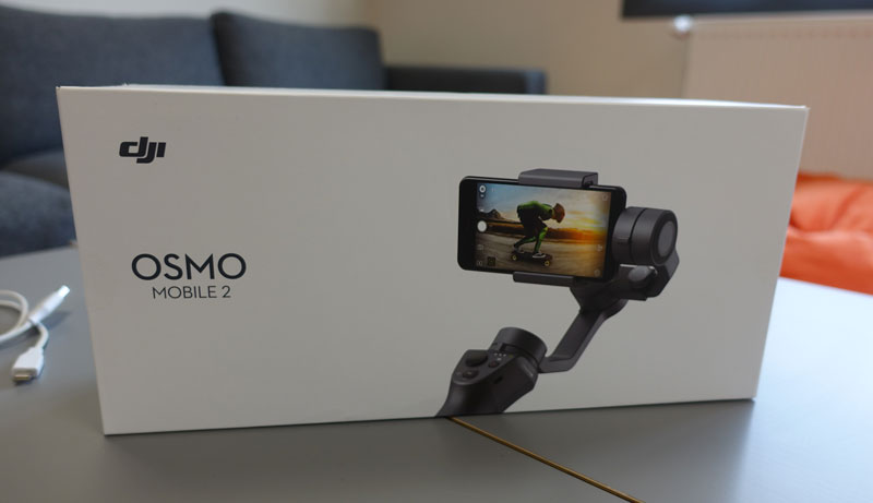 Packaging du DJI Osmo Mobile 2