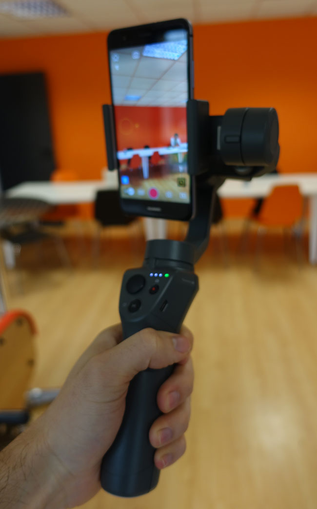 Test du DJI Osmo Mobile 2 en mode selfie
