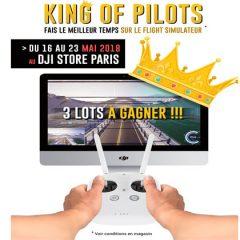 King Of Pilots : le jeu-concours au DJI Store Paris.