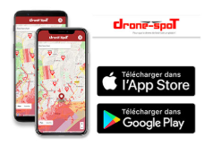 drone-spot.tech application mobile iphone android