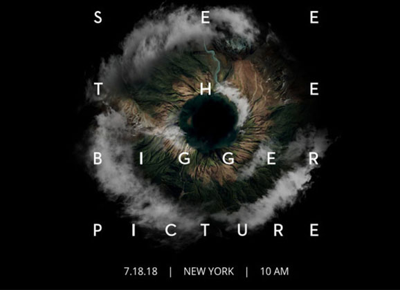 see the bigger picture conférence 18 juillet 2018 DJI