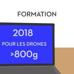 La loi drones de plus de 800 grammes repoussée