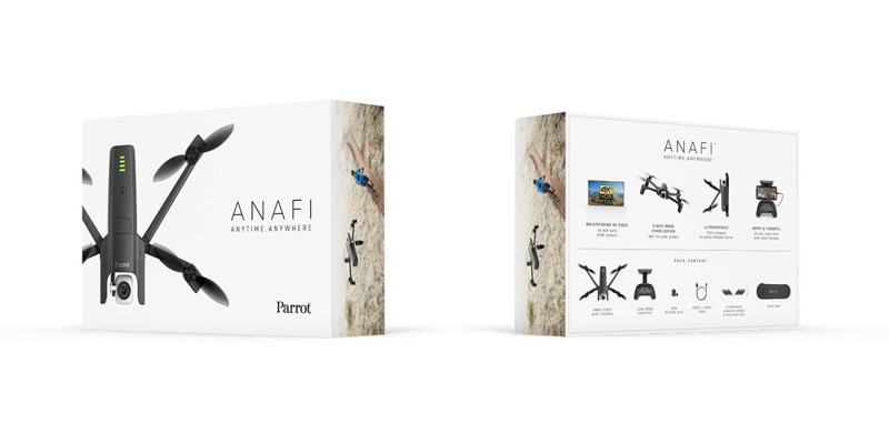 Packaging Parrot Anafi