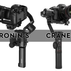DJI Ronin-S .VS. Zhiyun Crane 2 : le comparatif.