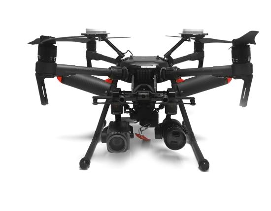 DJI Matrice 200 et 210 drone