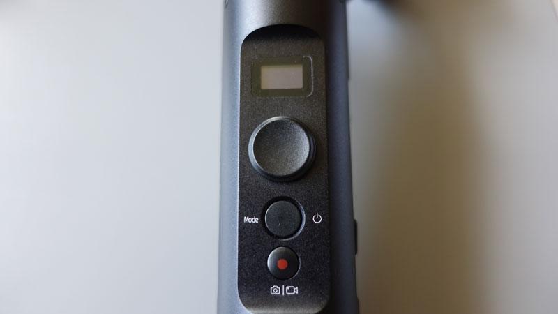 Feiyu G6 stabilisateur poignée commandes