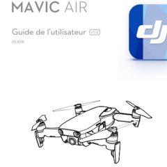 La notice du DJI Mavic Air en français est disponible !