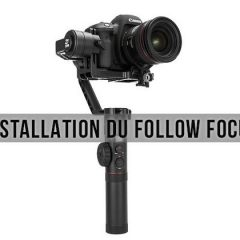 Comment installer le Follow Focus du Zhiyun Crane 2 ?